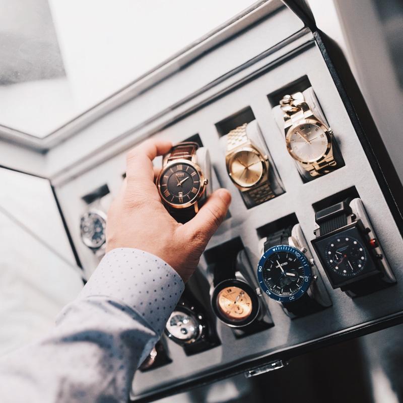Des montres de luxe