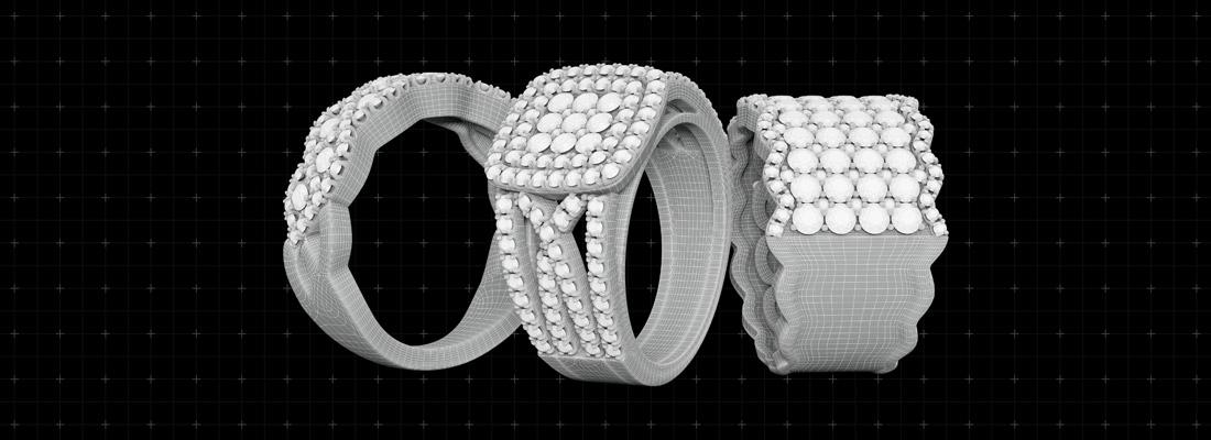créer des bijoux grâce à une imprimante 3D
