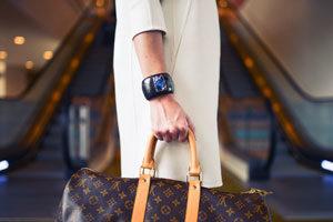Photo d'un sac à main de luxe